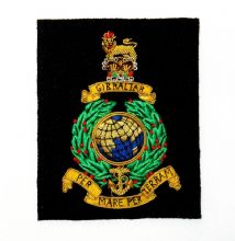 Royal Marines - Blazer Badge